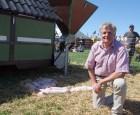 Mobil grise-hytte med løbegård