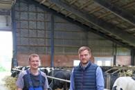 Nyt kraftfoder lokker køerne oftere i robotten