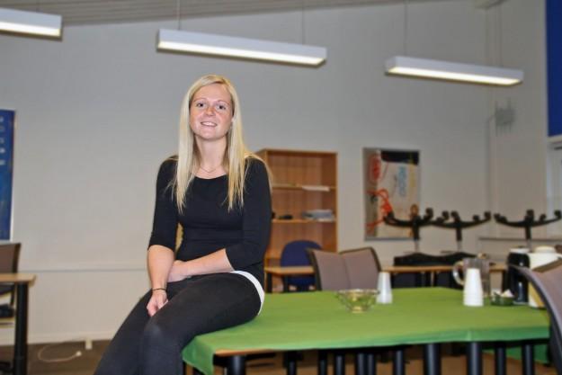 Mette Mikkelsen klarede sin eksamen til virksomhedsleder, så nu er hun klar til fremtiden.