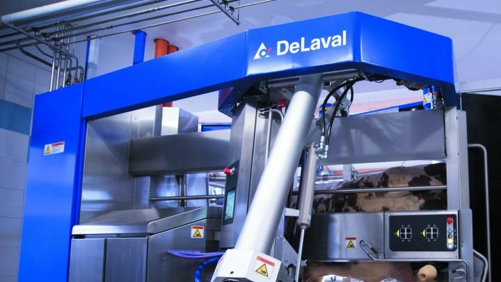 Præsentation af DeLavals nye malkerobot