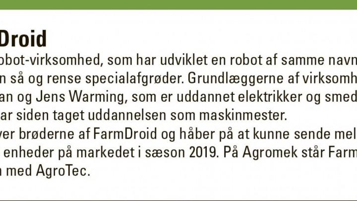 Dansk robot klarer både såning og rensning