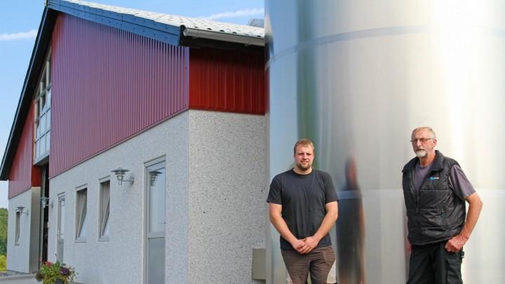 Mælkeproduktion på bornholmsk