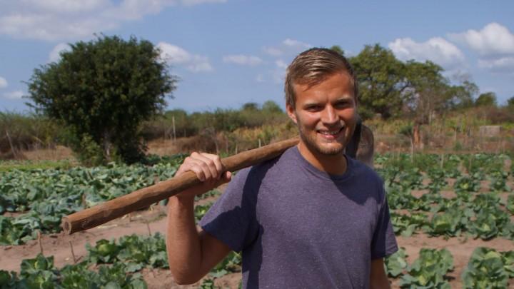 En fremtid gennem landbrug i Mozambique