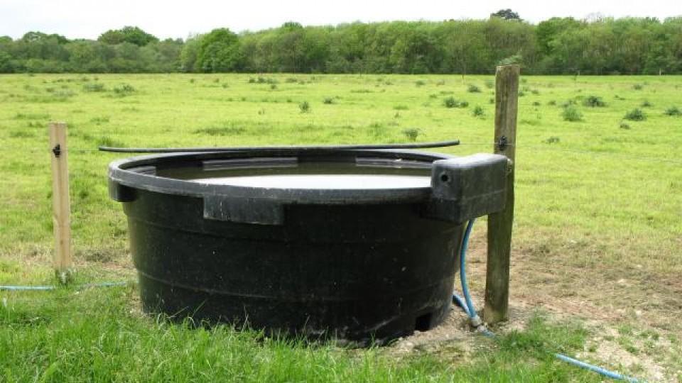 vandkar til køer